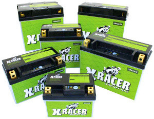 X-RACER | LITHIUM BATTERIEN