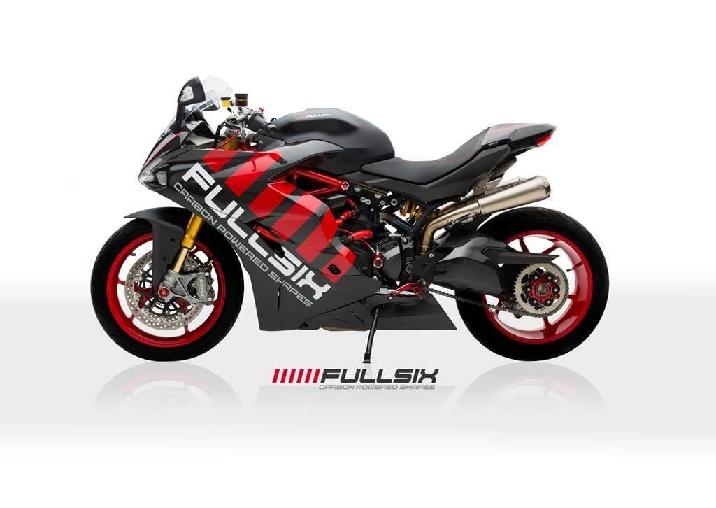 Ducati  Left Side Fairing